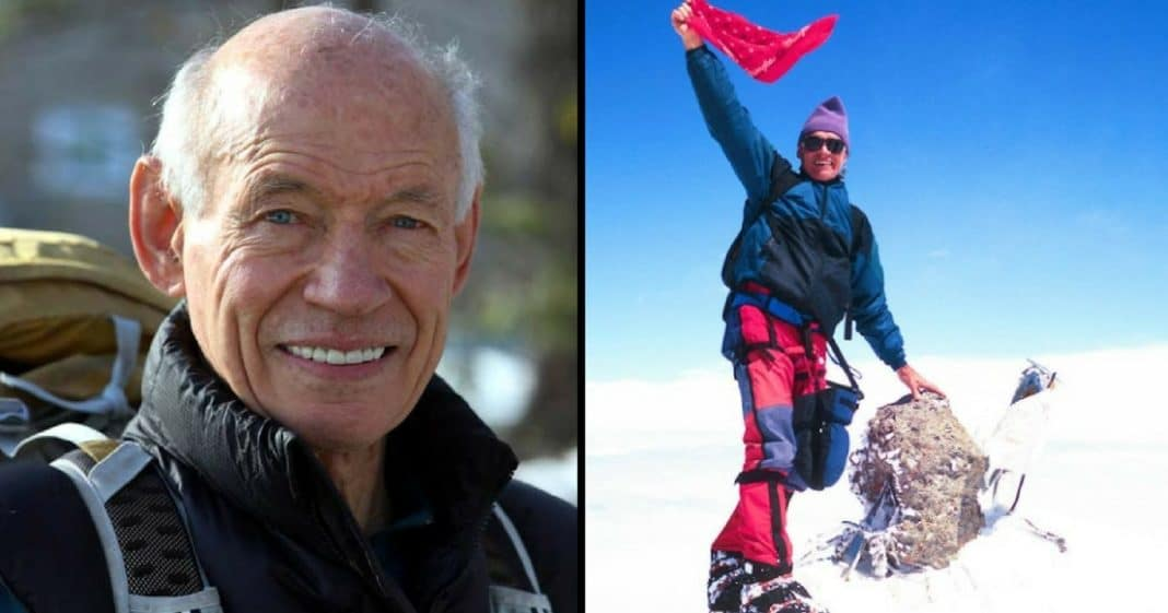 This Man Is The Oldest Person Ever To Climb The World's 7 Highest Summits