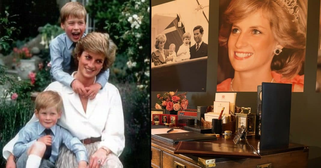 William And Harry Make The Ultimate Tribute To Princess Diana At Buckingham Palace