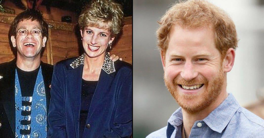 Elton John Remembers Princess Diana's 'Incredible' Gift – That Prince Harry Shares!