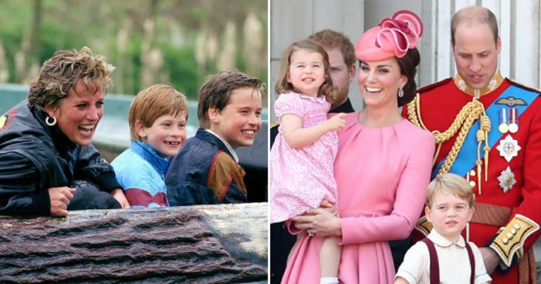 The Adorable Reason Prince William Says Diana Would've Been An 'Absolute Nightmare' As A G'ma
