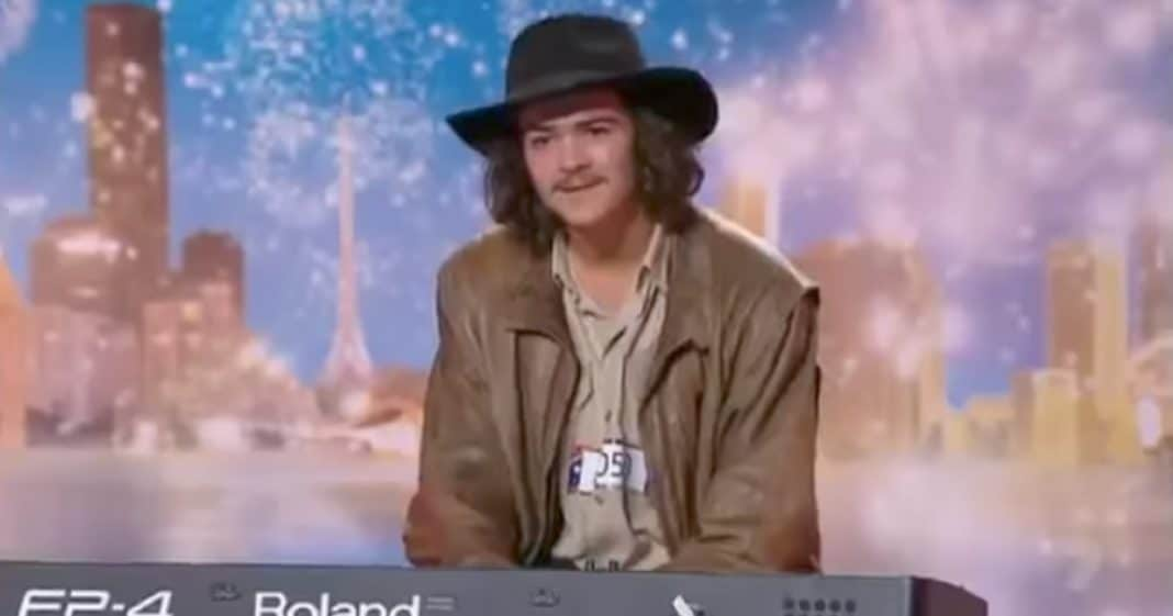 Judges Scoff When He Says He's Making Up Audition, But What He Does Next Changes Everything