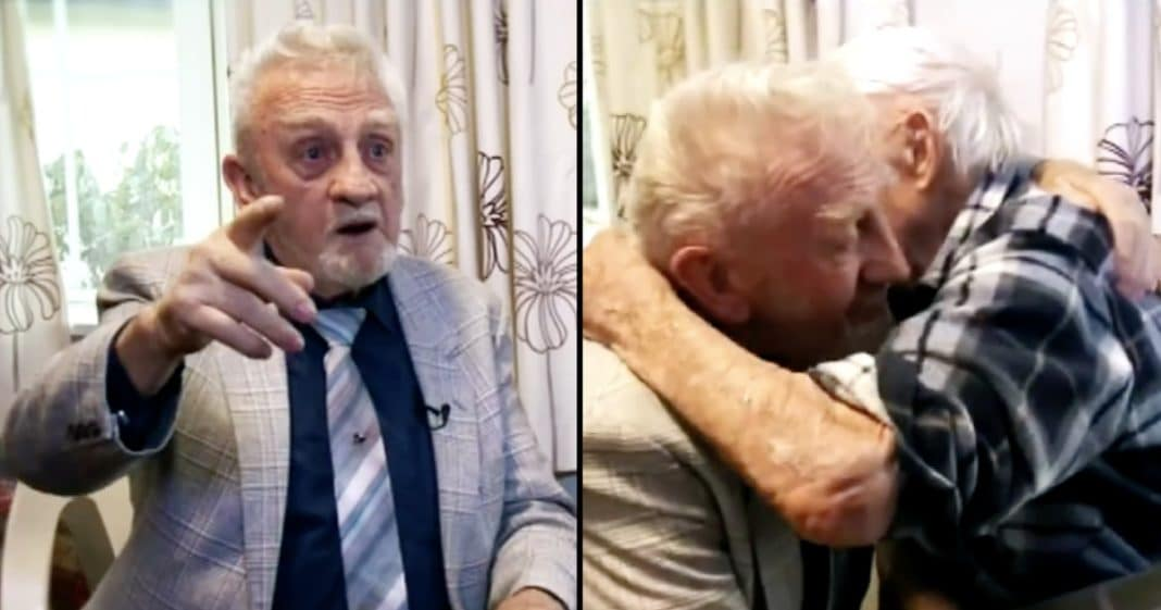 82-Year-Old Thinks Brother Is Dead. 35 Years Later Looks At TV And Almost Faints