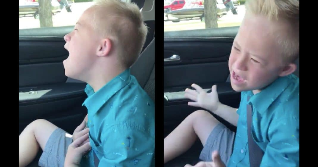 9-year-old with Down syndrome covers Whitney Houston classic, goes viral as soon as he opens his mouth