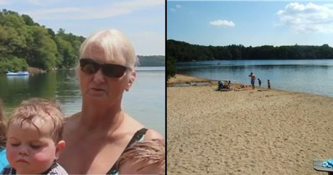Grandma Spots Teen Flailing In Water. That's When She Grabs The Boogie Board
