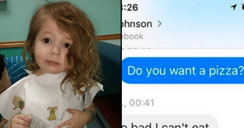 Toddler Abducted From Grandparent's Home, Then Stranger's Text About Pizza Brings Her Home