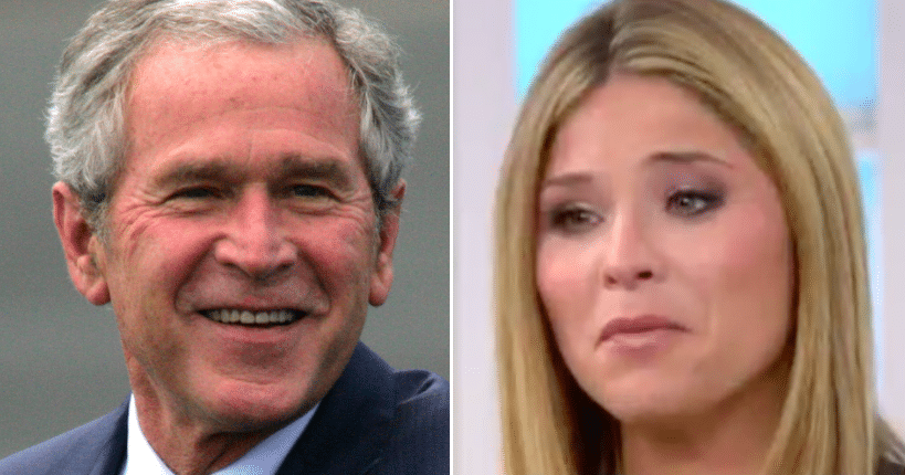 Reporter Asks George W Bush His Greatest Accomplishment. Answer Leaves Daughter In Tears