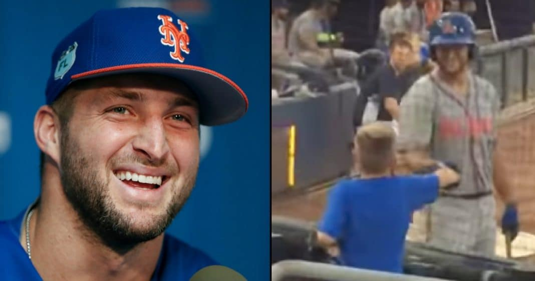Tebow Leaves Game To Meet Autistic Fan, But It's What He Does After That Has People Talking