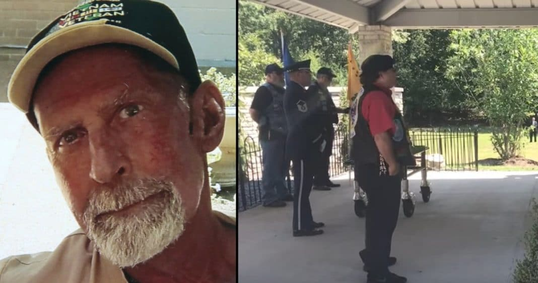 Homeless Vet Dies With No Friends Or Family, But Wait Till You See Who Comes To Funeral