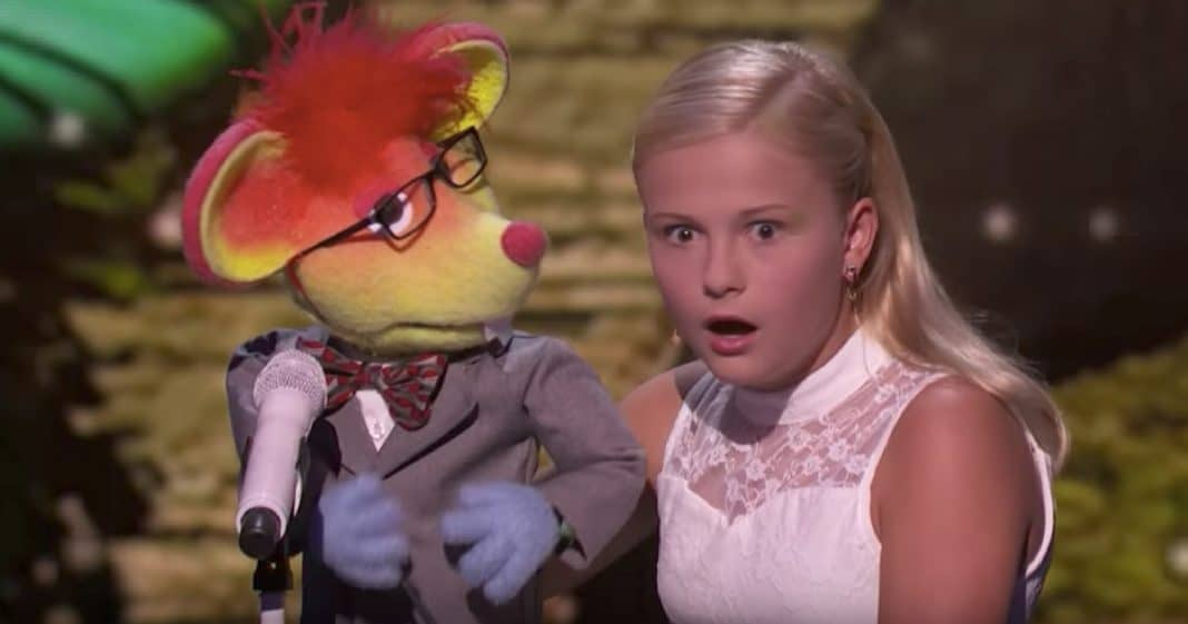 Young Ventriloquist Wows Audience As New Puppet Belts Out Love Song For 1 Of The Judges