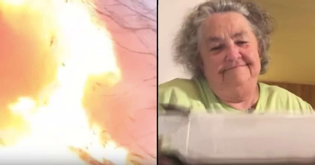 17 Yrs After House Burns She Gets Mystery Package. When She Opens It Knows It's A Miracle