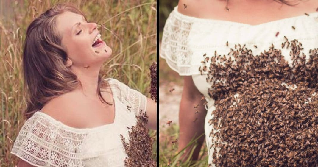 Mom Asks Her To Do Maternity Shoot. Stuns Her With 'Guests' That Have Whole Internet Buzzing