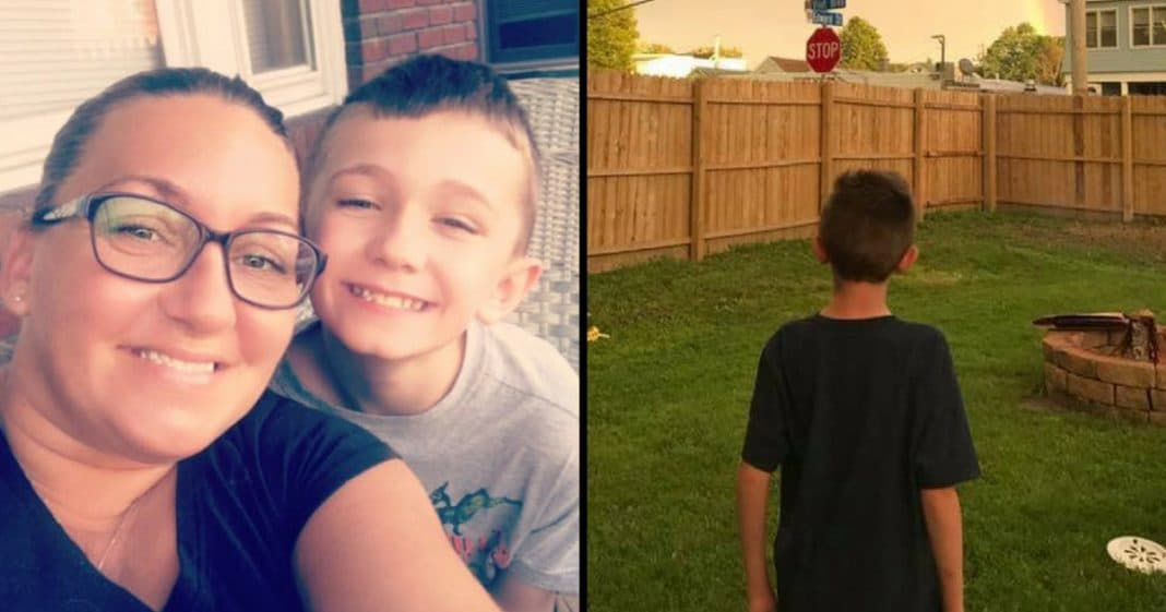 9-Yr-Old's Parents Die 22 Days Apart. Then He Looks At Sky, Knows They're Watching