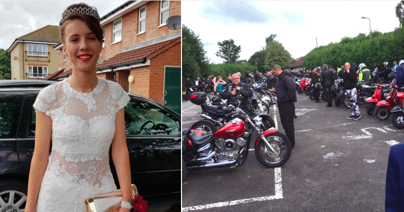 Teen Scared To Go To Dance Because Of Bullies, Then 120 Bikers Show Up At Front Door