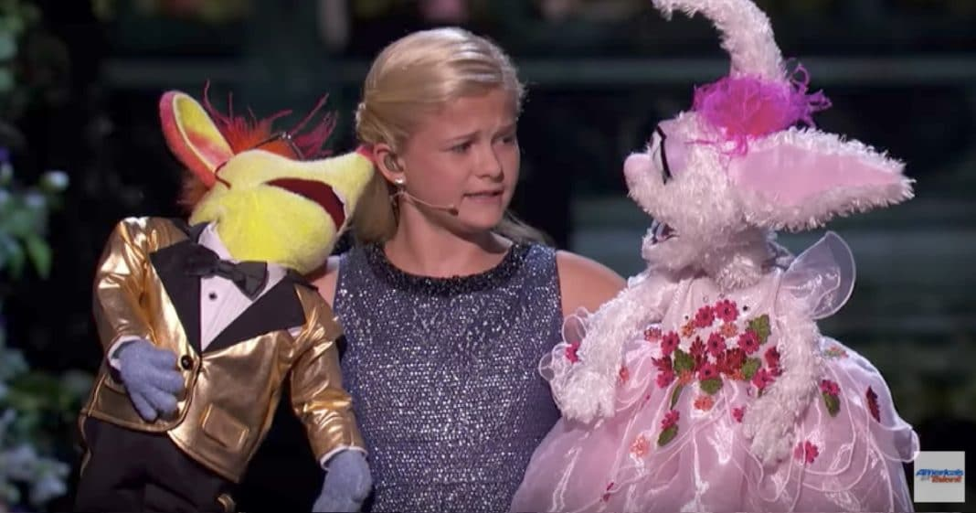 Darci's Puppets Fight Over Who Will Sing At Finale. Their Duet Has Audience Roaring