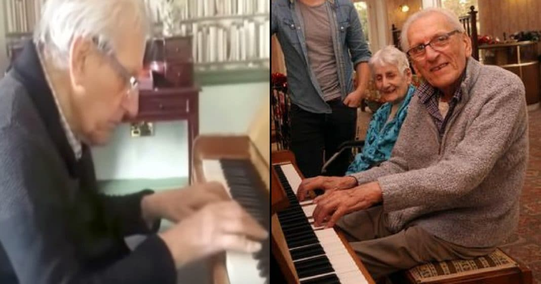 94-Yr-Old Has Dementia, But There's 1 Special Thing He's Never Forgotten