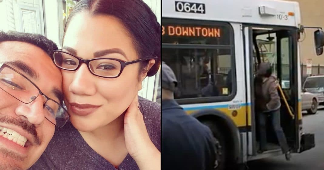 Stranger Rescues Pregnant Girl Attacked On Bus. Then She Asks 1 Question That Leaves Her In Tears