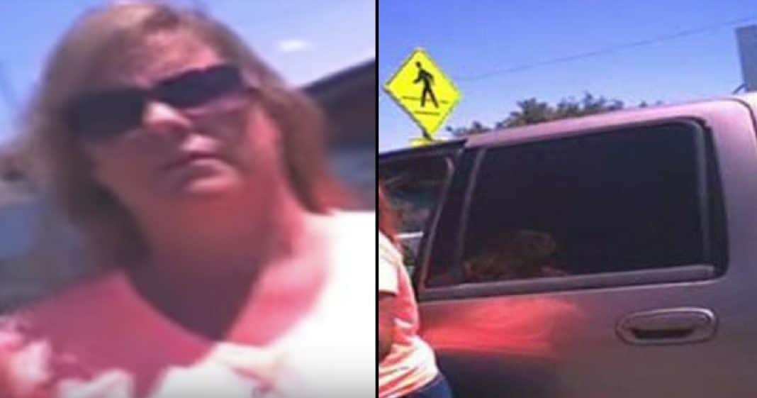 Cop Makes Woman Sit In Hot Car After Leaving Dog Inside. Her Furious Response Is Golden