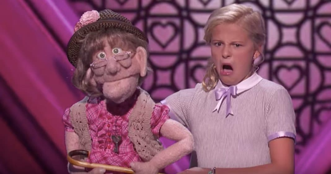 Ventriloquist Darci Lynn Wows Audience As New Puppet Belts Out Love Song For Simon