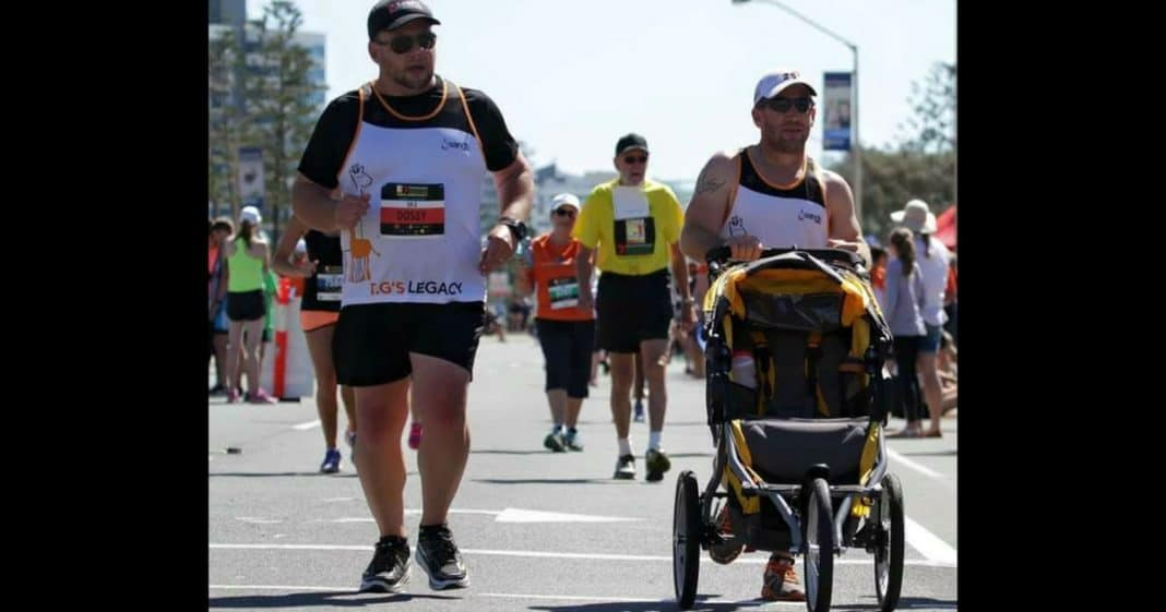 She's Confused When Man Runs By With Empty Stroller. When She Learns Why Breaks Down In Tears