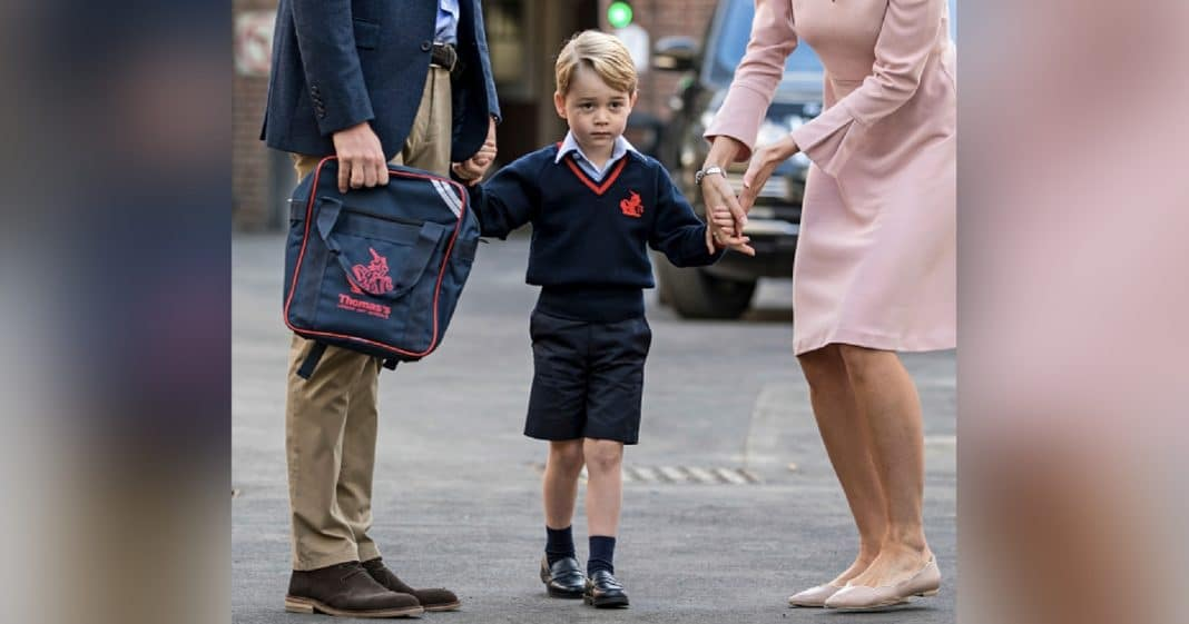 Prince George Heads To 1st Day Of School, People Instantly Notice Something 'Off' About Photo