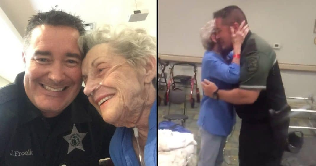 Elderly Woman Tells Cop She's Frightened After Irma. What He Does Next Will Melt Your Heart
