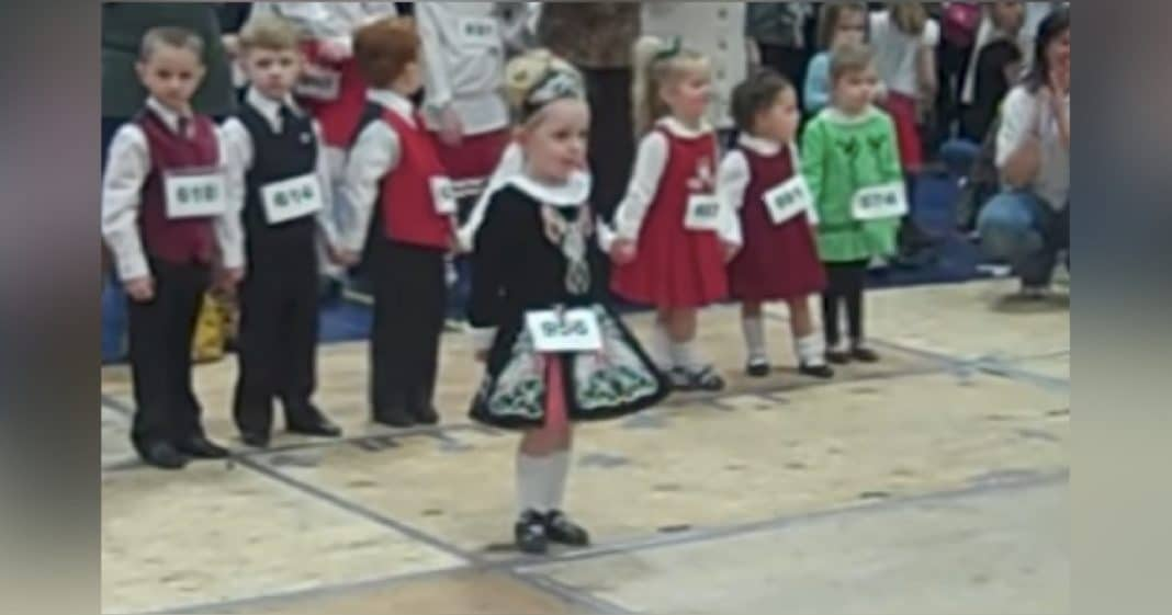 3-Yr-Old Nervously Waits Turn To Dance, Captures Millions Of Hearts As Soon As Music Begins