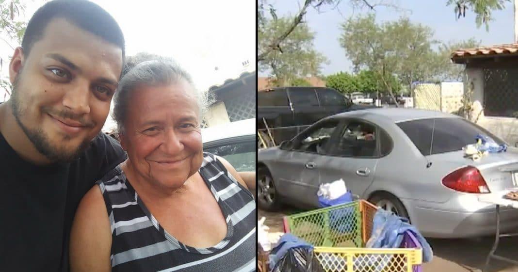 He Sees Elderly Woman Sleeping In Car In Front Of House, Heart Breaks When He Learns Why
