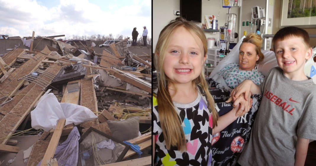Hero Mom Loses Both Legs Saving Children From Tornado. 1 Year Later She's Still Helping Others