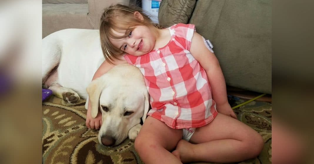 Girl With Down Syndrome And Diabetes In Danger. 5 Miles Away, Dog Starts Whining