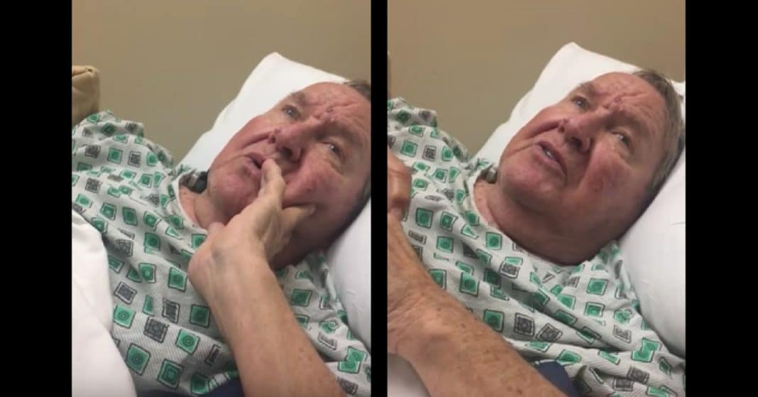 G'pa With Dementia Can't Remember Her Name, Breaks Down In Tears When He Starts To Sing