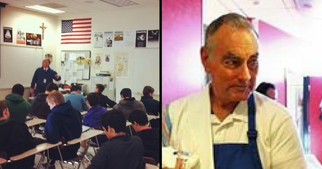 Student Hates 'Strict' And 'Stern' Teacher, Then Discovers He's Leading A Double Life