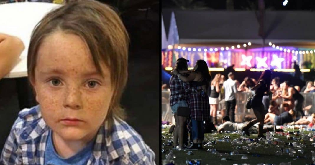 Stranger Sees 5-Yr-Old All Alone During Vegas Shooting, Knows She Can't Just Leave Him