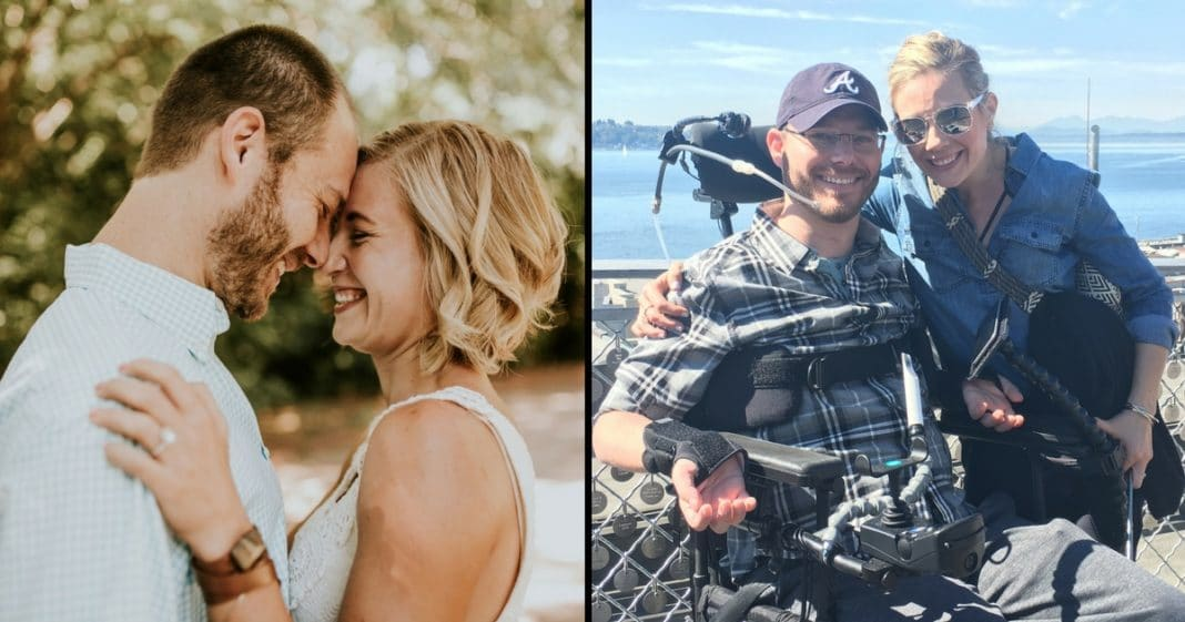 Groom Paralyzed At Bachelor Party. 9 Months Later Does The