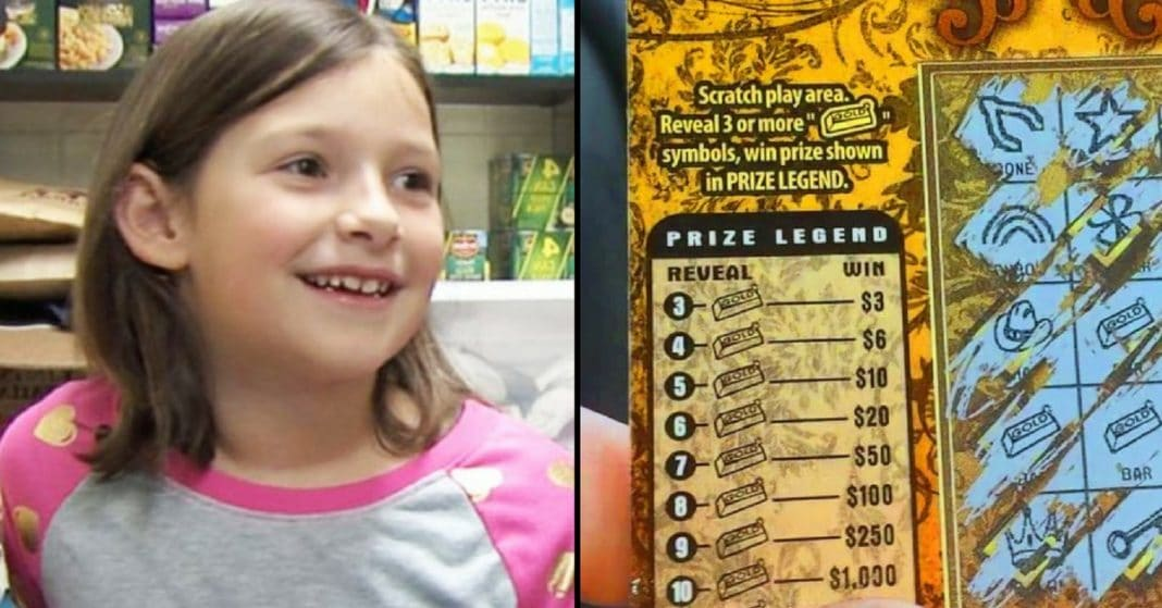 7-Year-Old Finds Winning Lottery Ticket, Then Heads Straight For The Canned Food Aisle