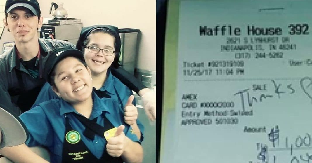Waitress Doesn't Recognize Man At Table, But When She Sees Check…'I Almost Had A Heart Attack'
