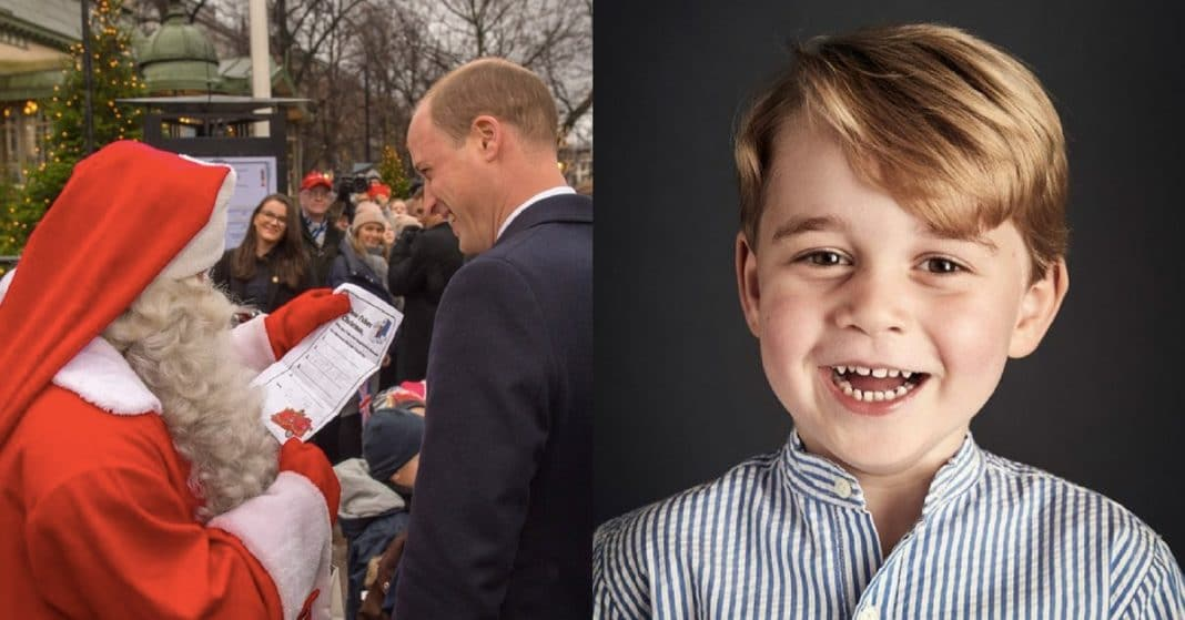 Prince William Delivers George's Wish List To Santa, Reveals The 1 Thing He Wants For Christmas