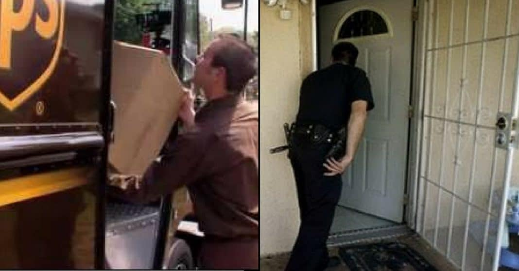 UPS Driver Hears Woman Screaming 'Help'. When Cops Break Down Door Can't Believe What They Find