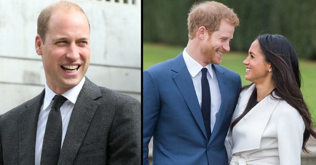 Prince William Has The Most Hilarious Response To Brother Harry's Engagement Announcement