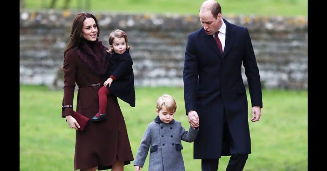 Prince William And Kate Don't Let George And Charlotte Open Most Of Their Christmas Gifts