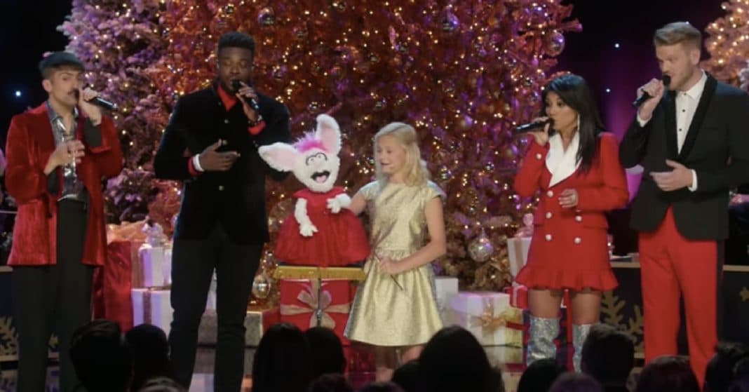 Darci Lynne and Petunia Join Pentatonix For Hilarious Spin On Christmas Classic