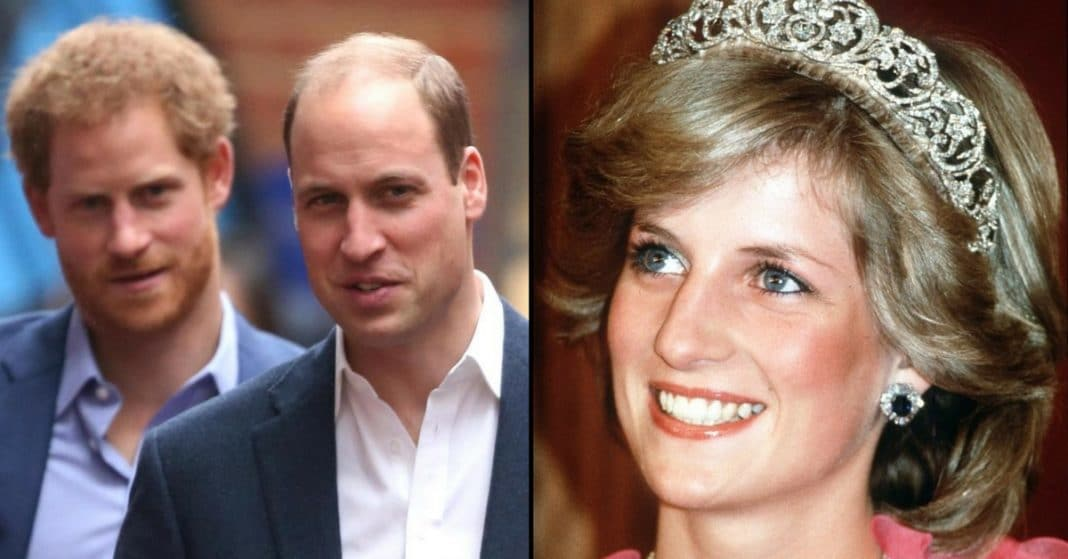 William And Harry Reveal Tribute They Have Planned For Mom Princess Diana