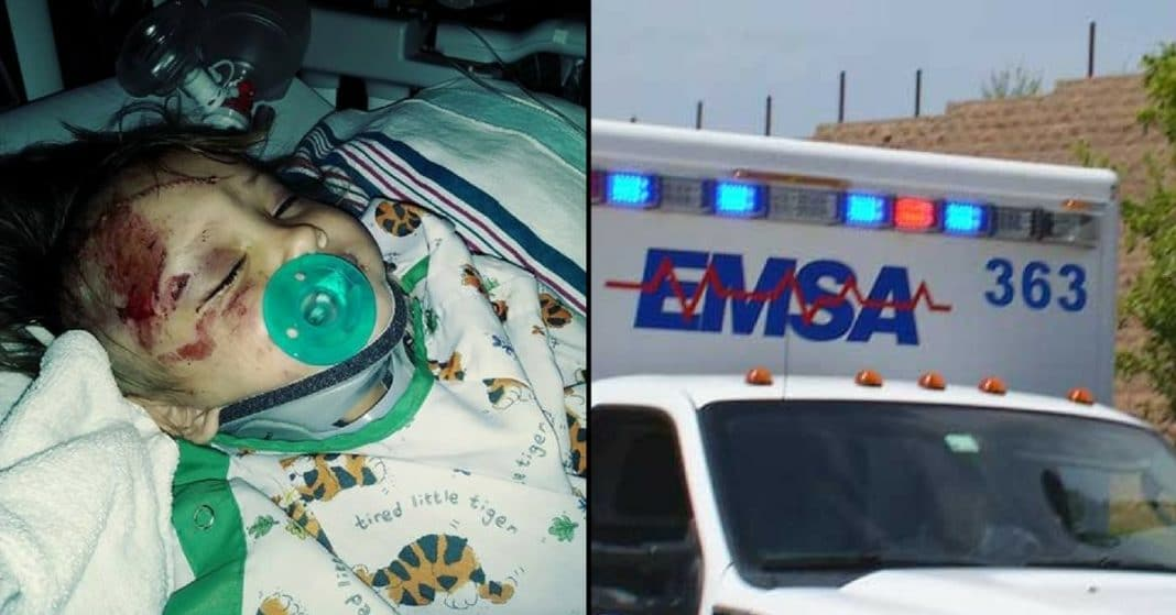 Grandma Runs Over 2-Year-Old With Car, Then Cops Start Praying For A Miracle