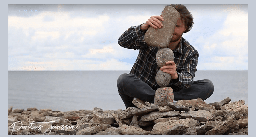 Artist Picked Up Rocks And Started Stacking Them. When I Saw The End Result – Holy Moly!