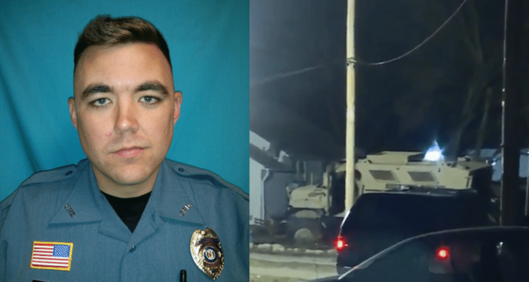 Cop Rejoins Police Force After Fellow Officer Died In Line Of Duty, Months Later Tragedy Strikes