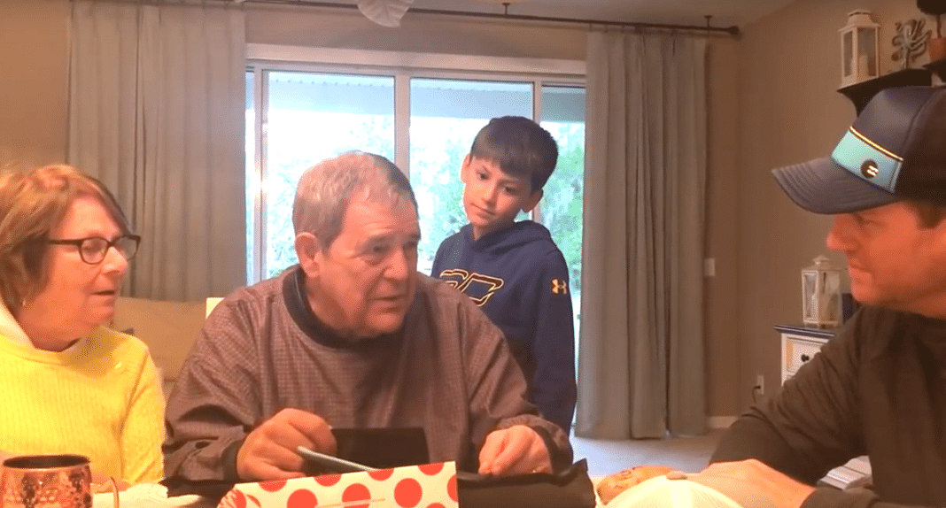 Son Gives Parents Family Photo Album, Then Asks 7 Word Question That Brings His Dad To Tears