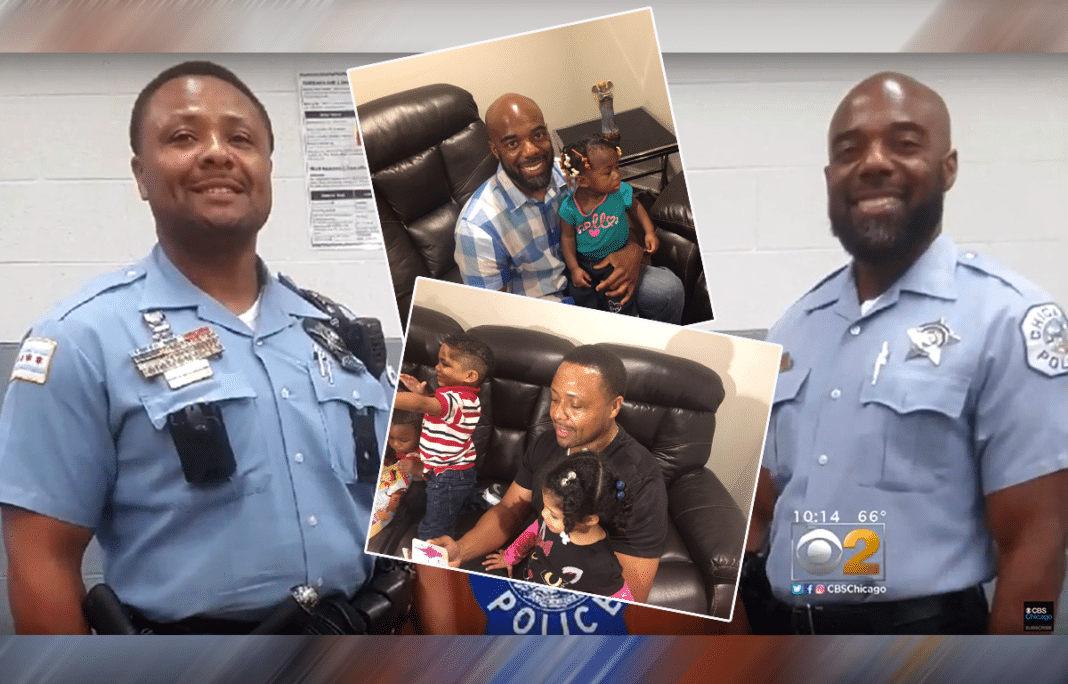 Crying Mom Walks Into Police Station, Cops Look At 4 Kids And Know Something's Not Right