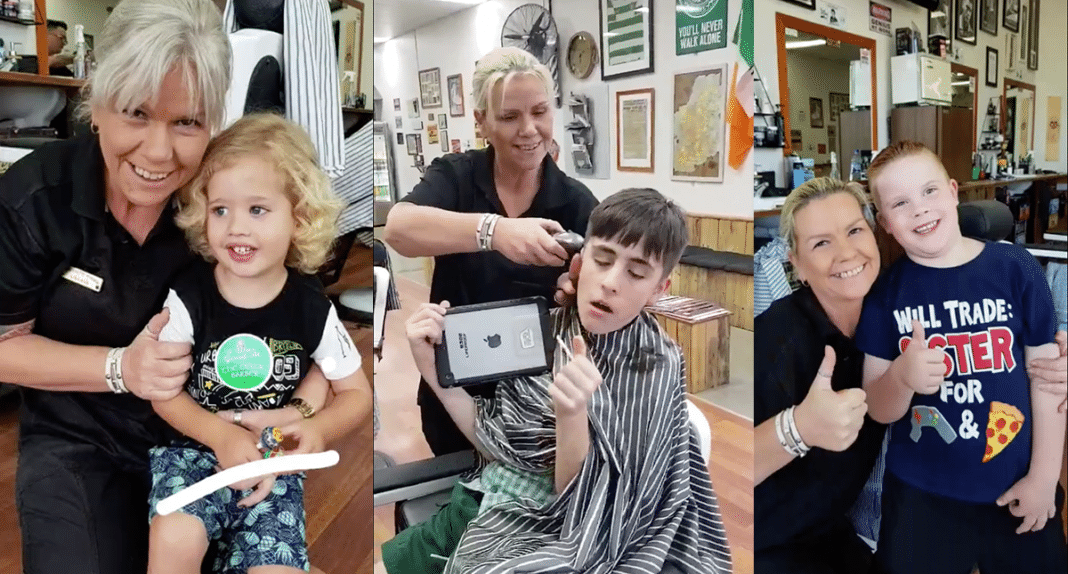 Autistic Boy Couldn't Sit Through Haircut, Then Barber Makes Decision That Changes His Life…And Hers