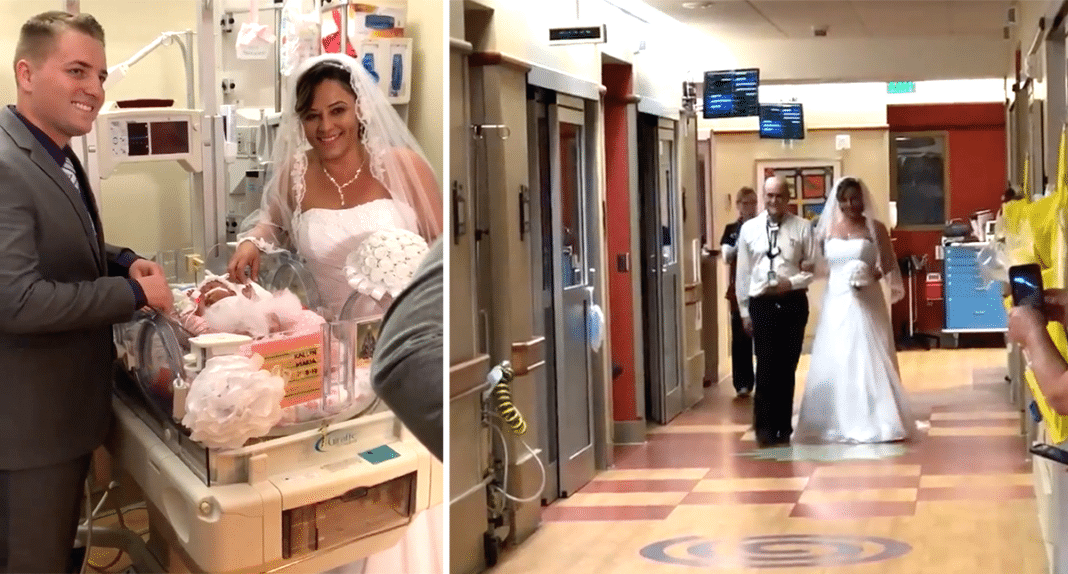 Couple Changes Plans To Hold Wedding In Intensive Care Unit With Their Daughter