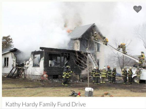 The house via GoFundMe