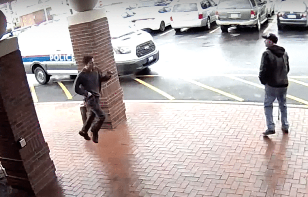 Grandpa's Split-Second Thinking Ends Up Saving A Life And Helps Cops Catch Armed Suspect